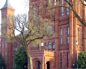 Smithsonian Castle in Springtime