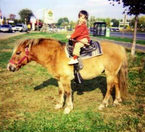 Jack riding a pony
